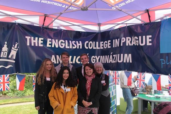 ECP team at British Embassy