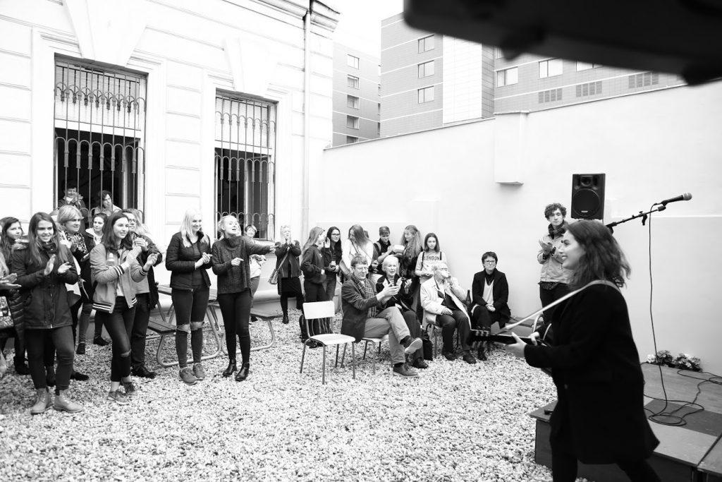 ECP music courtyard