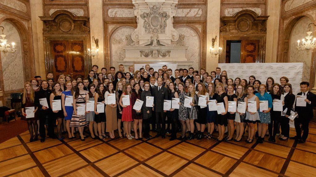 DofE Czech Republic Gold Award Ceremony