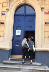 Iconic Blue Doors get a Face-lift